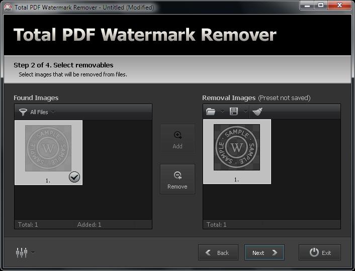 remove pdf watermark freeware