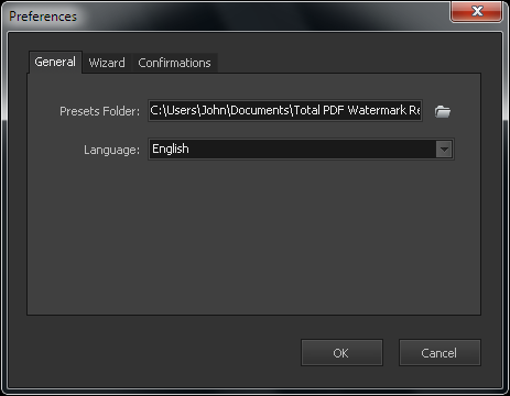 Screenshots - Total PDF Watermark Software - PDF