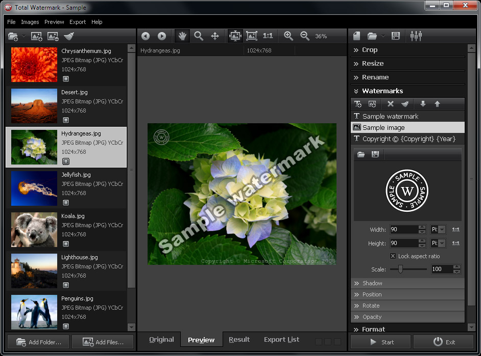 total watermark software batch image and photo watermarking
